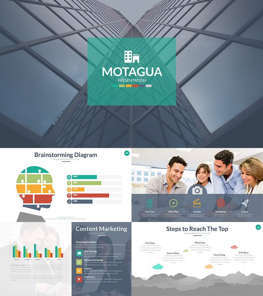 Motagua Multipurpose Health Presentation Ready PPT Template