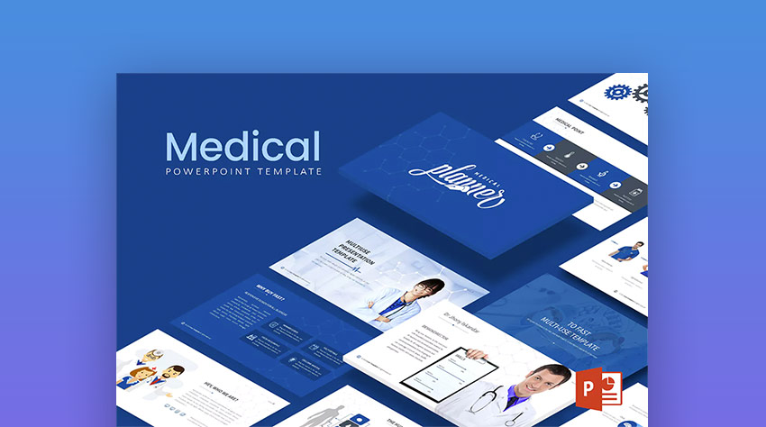 21 medical powerpoint templates for amazing health presentations modern medical healthcare ppt slide template toneelgroepblik Images