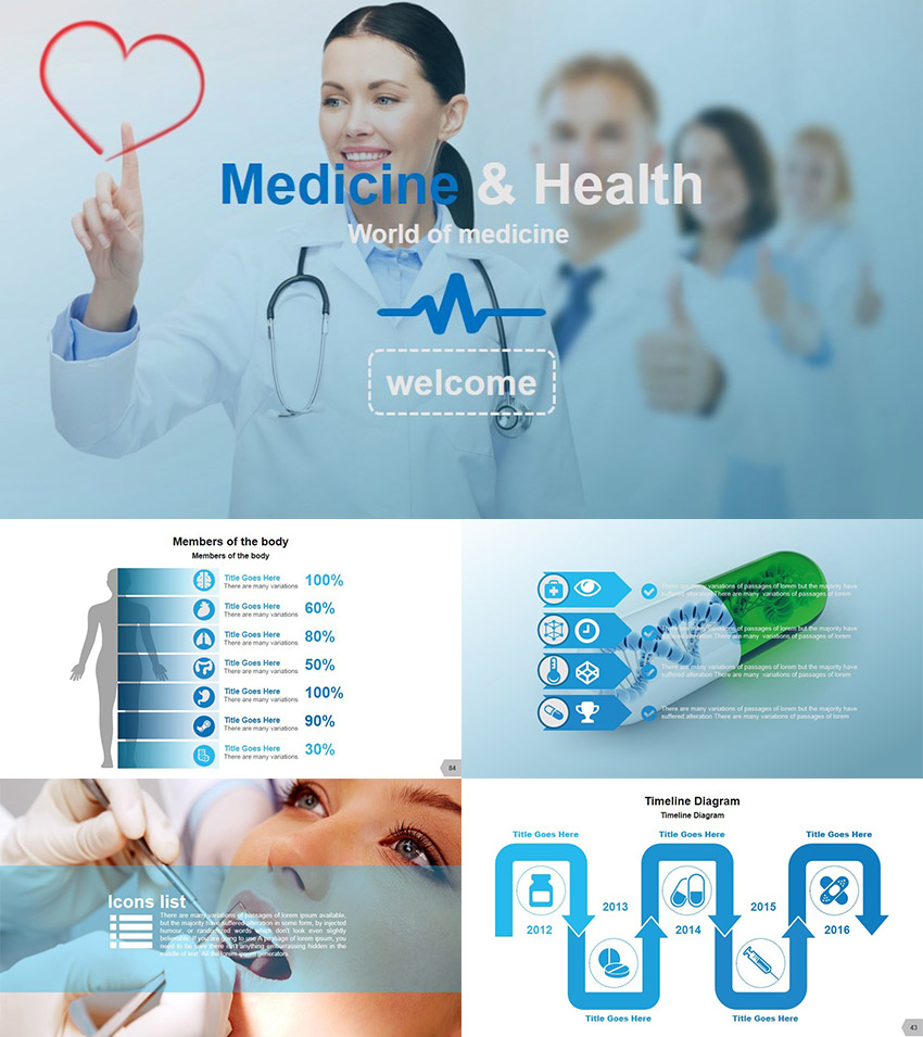 21 medical powerpoint templates for amazing health presentations medical powerpoint presentation template toneelgroepblik Images