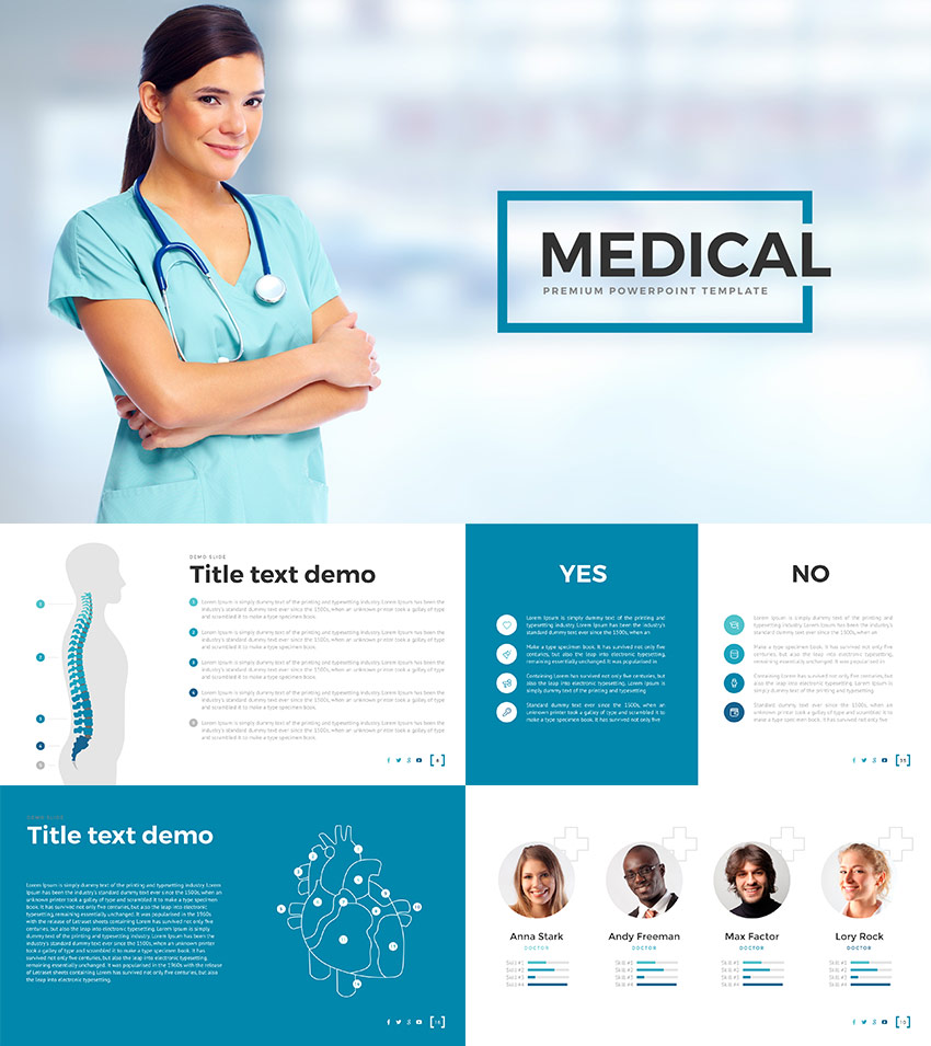 Medical PPT Presentation Design