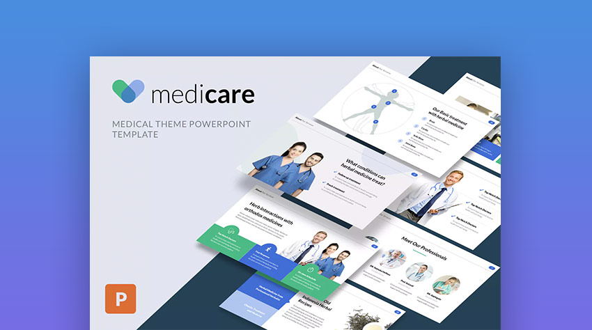 21 medical powerpoint templates for amazing health presentations medicare pro medical powerpoint design template toneelgroepblik Images