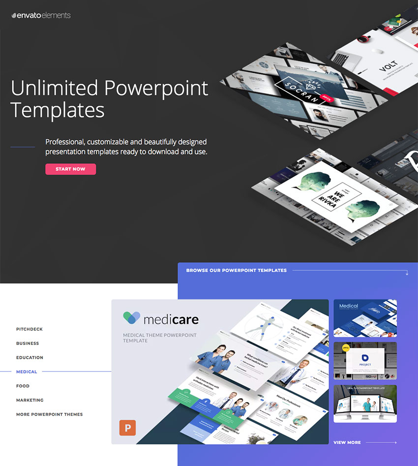 21 medical powerpoint templates for amazing health presentations medical powerpoint presentation templates on envato elements toneelgroepblik Images