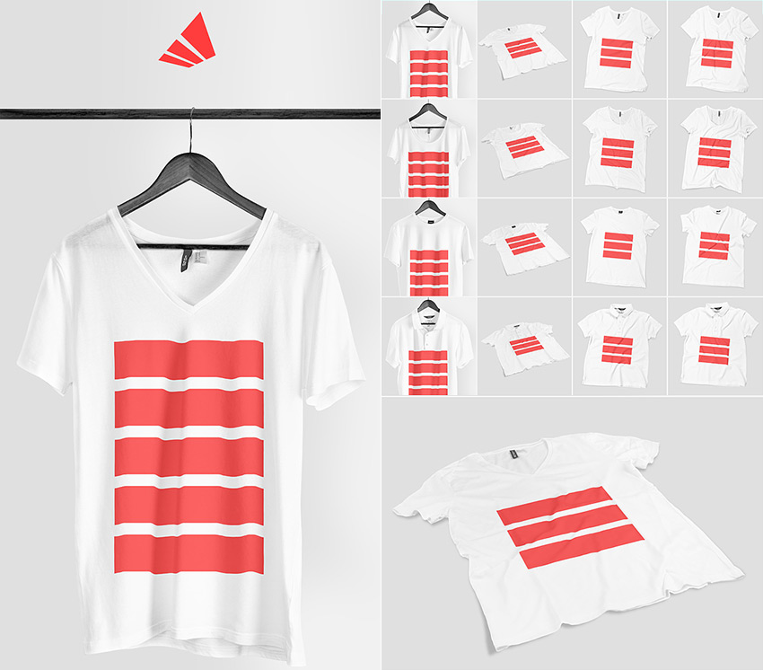 20 t shirt mockup psd templates with photorealistic results