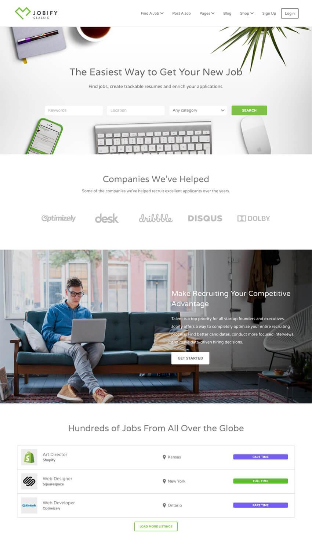 Las 20 mejores plantillas Wordpress para crear directorios de ...