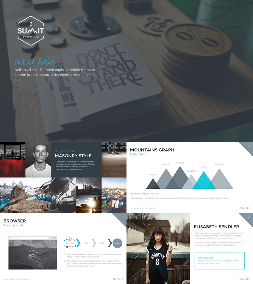 Summit 2 Powerful PowerPoint template