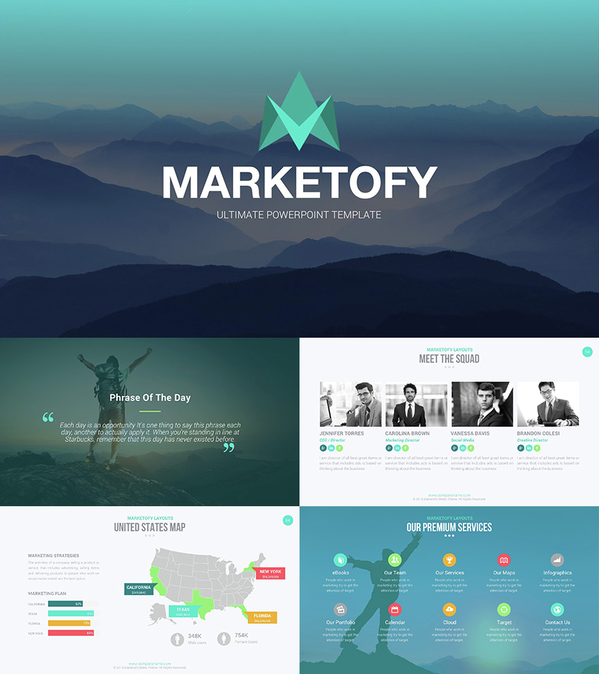 creative presentation ideas that will inspire your audience to  ultimate powerpoint template marketofy