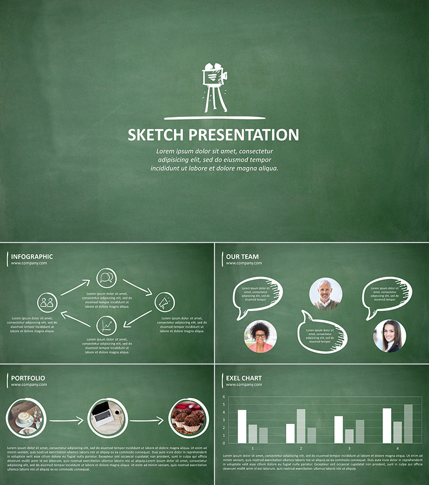 15 education powerpoint templates for great school presentations sketch 20 ppt presentation for school design sketch 20 is an education powerpoint template toneelgroepblik Image collections