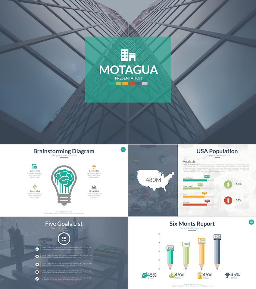 15 education powerpoint templates for great school presentations motagua powerpoint template design for students and teachers toneelgroepblik Gallery