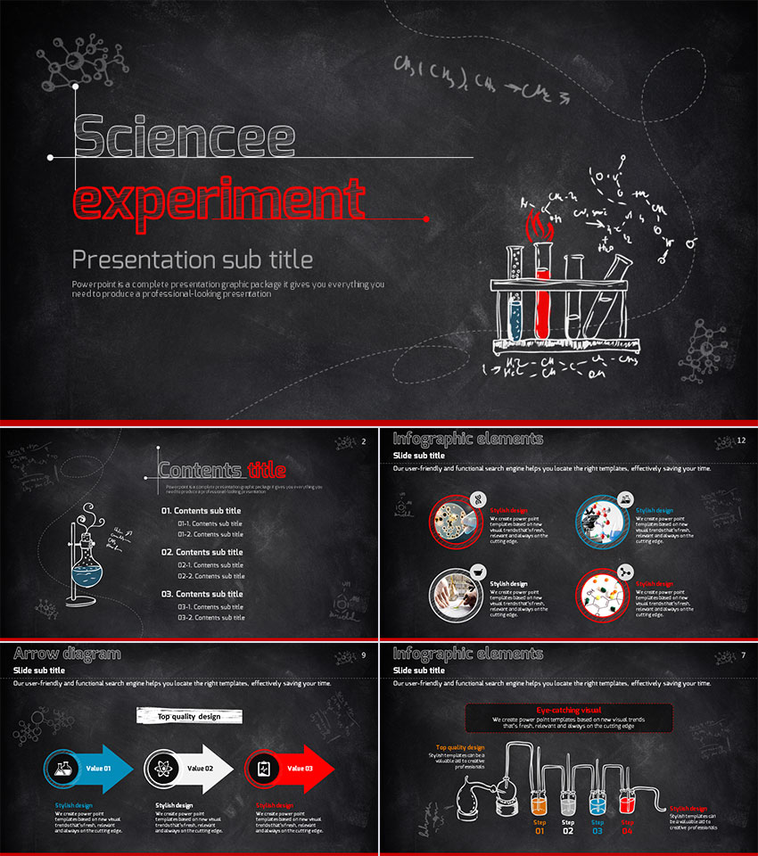 15 education powerpoint templates for great school presentations science experiment school education ppt templates toneelgroepblik Image collections