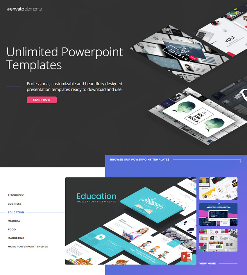 15 education powerpoint templates for great school presentations education powerpoint templates on envato elements with unlimited access toneelgroepblik Choice Image