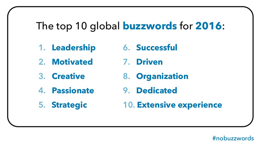 Top Buzzwords To Remove From Your Resume  Words To Use In Your Resume