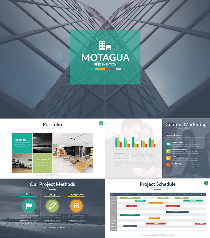 Motagua Premium PPT Presentation Template design