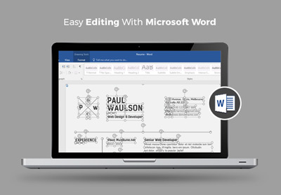Professional ms word resume templates