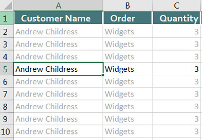 How to fine and remove duplicates in excel