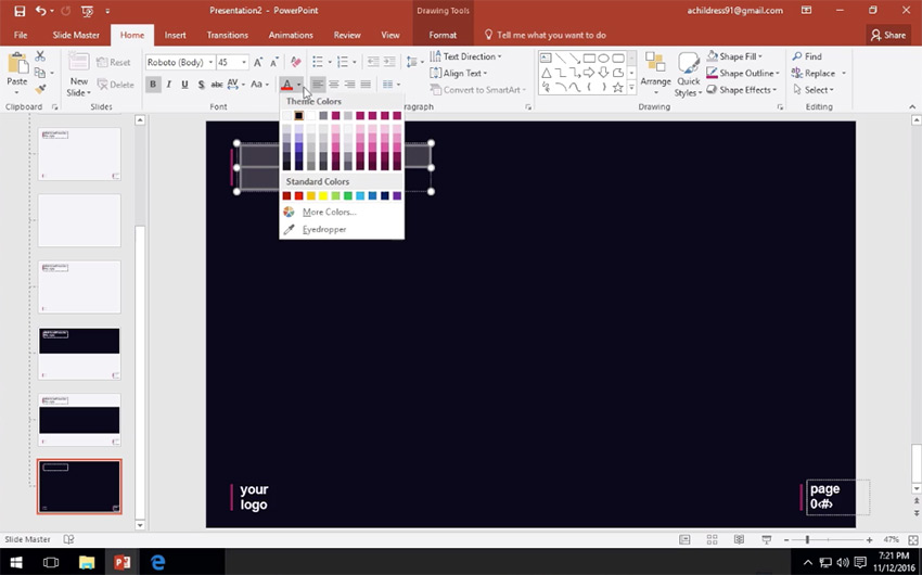 How to Use PowerPoint Slide Master View in 60 Seconds