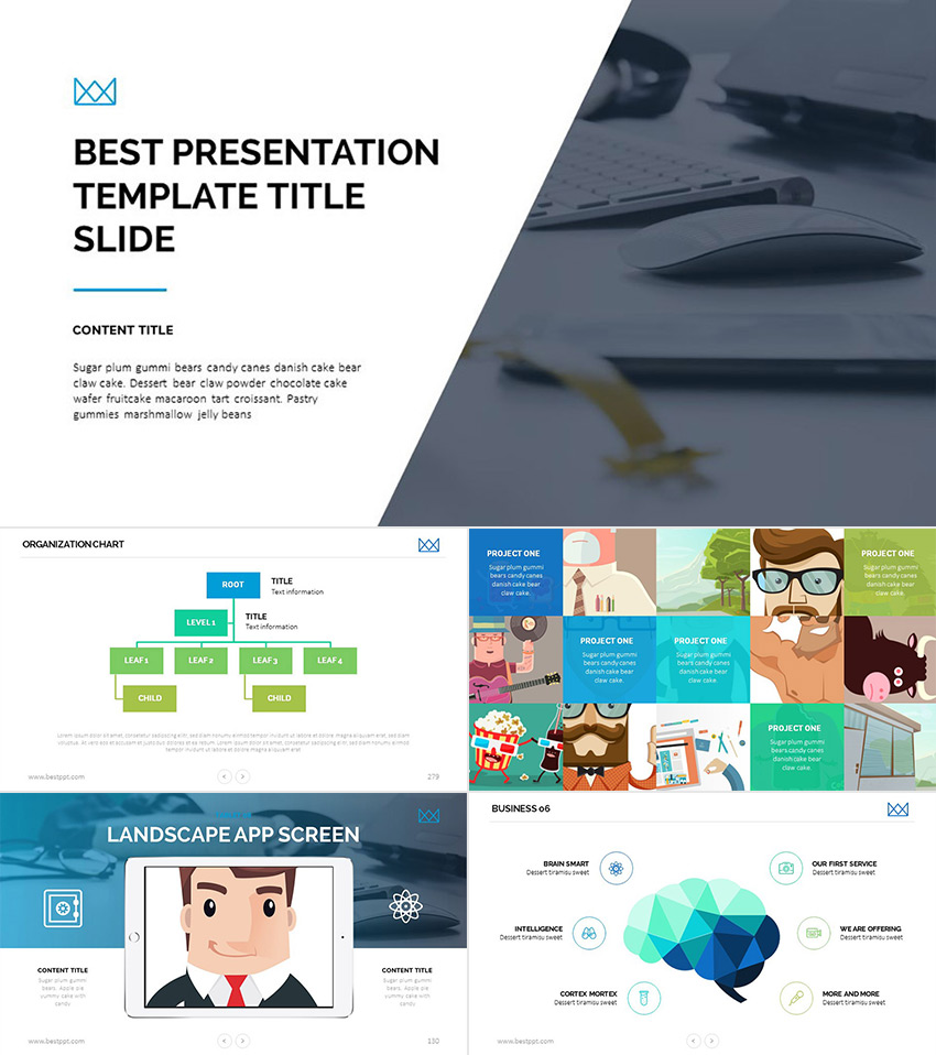 25 awesome powerpoint templates with cool ppt designs best business awesome powerpoint template presentation set toneelgroepblik Images