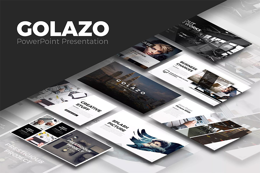 25 awesome powerpoint templates with cool ppt designs golazo cool powerpoint presentation template design toneelgroepblik Gallery