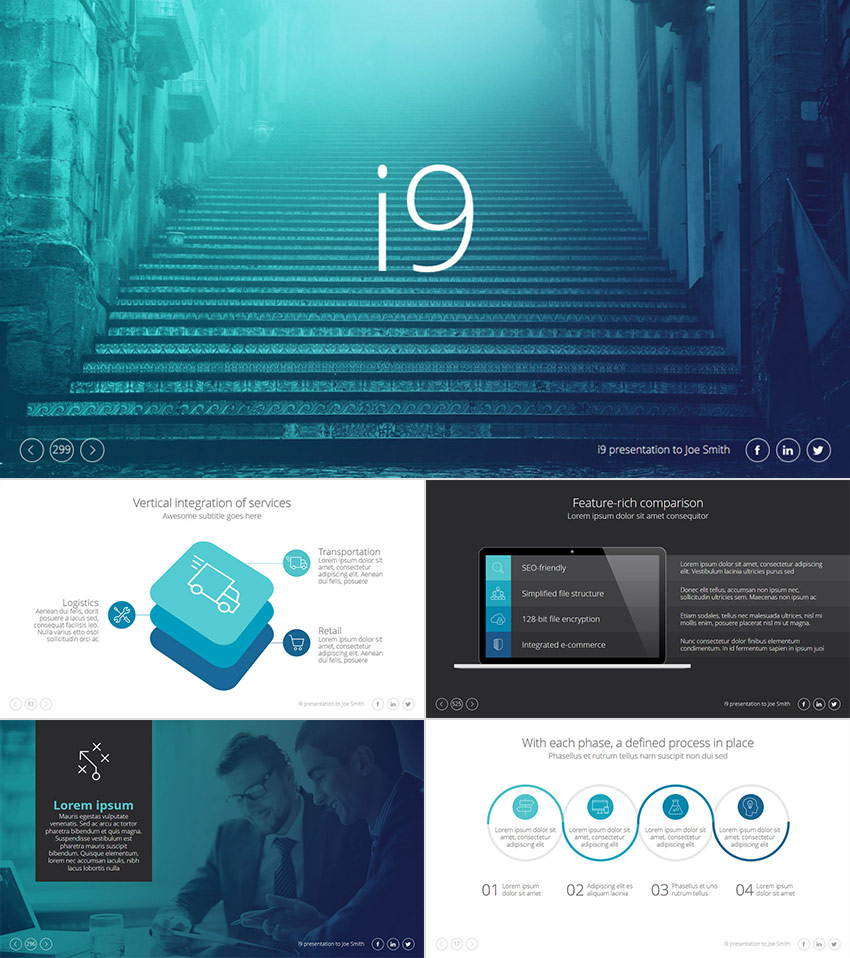 25 awesome powerpoint templates with cool ppt designs i9 cool ppt presentation template design toneelgroepblik Images