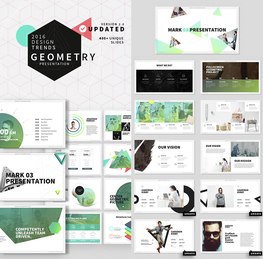 25 awesome powerpoint templates with cool ppt designs for Table design ppt