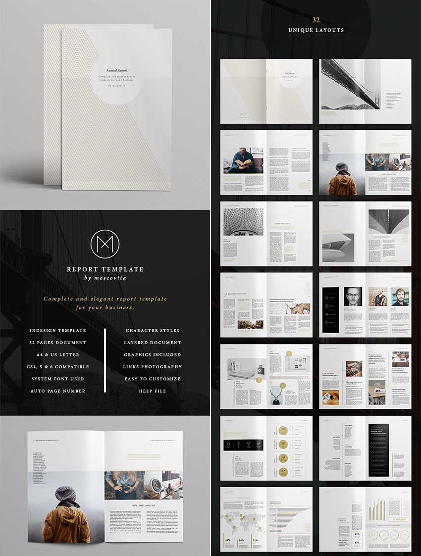 annual report templates awesome indesign layouts minimal style indesign annual report beautiful design