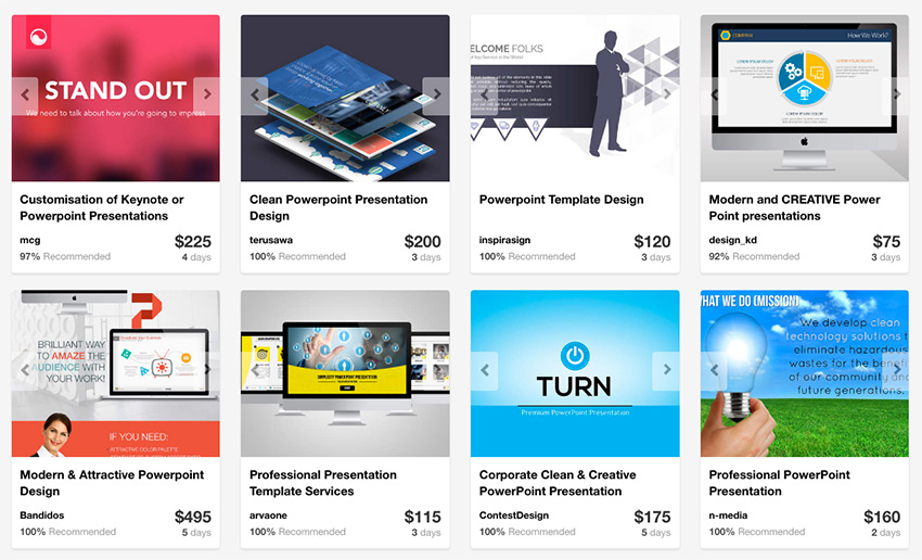 Envato Studio custom PowerPoint designs