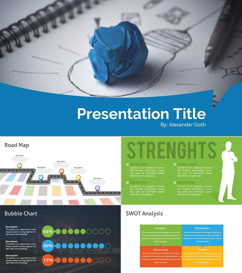 PPT Starter Pack 2016 Presentation Design Builder