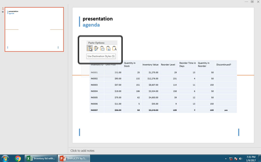 CRS-28144 How to Insert an Excel File into PowerPoint in 60 Seconds