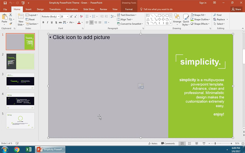 Open PowerPoint to view your slides