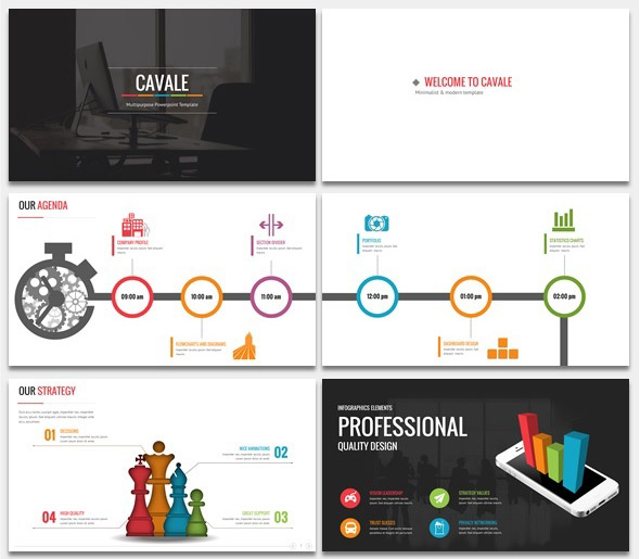 18 animated powerpoint templates with amazing interactive slides cavale powerpoint animated template ppt design toneelgroepblik Images
