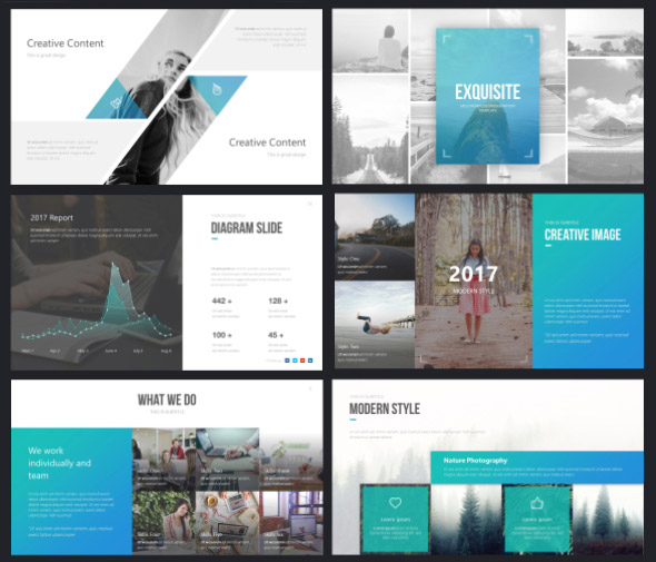 Exquisite Unique PowerPoint Presentation Template   Fully Animated