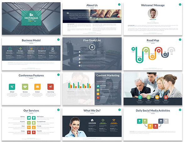 Animated Powerpoint Templates With Amazing Interactive Slides