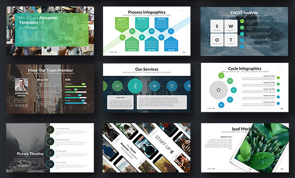 18 animated powerpoint templates with amazing interactive slides startup x perfect animated pitch template for powerpoint toneelgroepblik Images