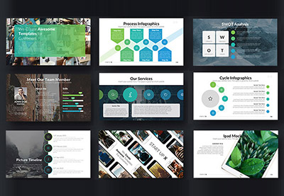20 Animated Powerpoint Templates With Amazing Interactive Slides