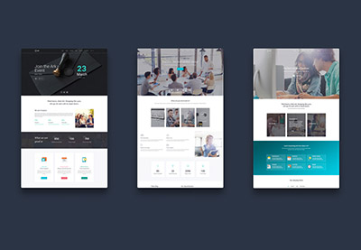 How to make one page parallax site from wordpress theme