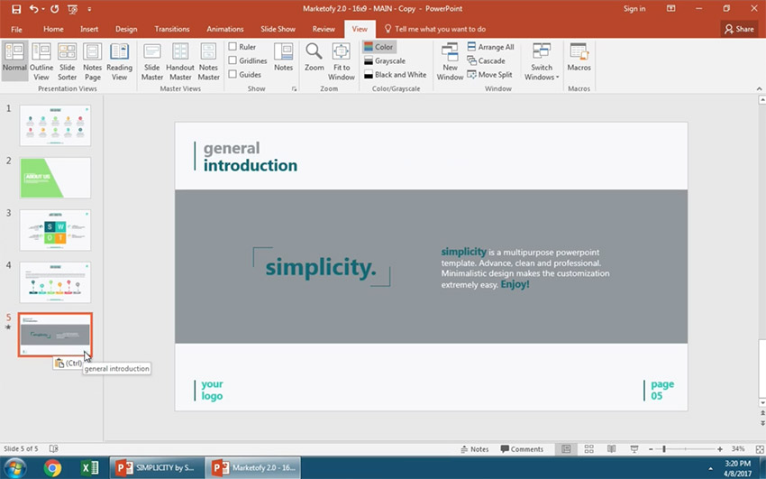Paste your PPT slide with to match your theme design