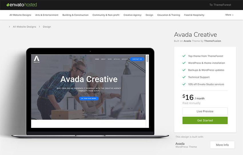 Avada Creative Clean and Responsive WordPress Theme