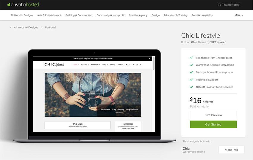 Chick Lifestyle Clean and Elegant WordPress Blog Theme