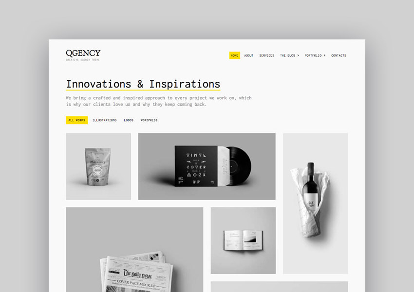 20+ Clean WordPress Themes: To Make Modern Websites in 2017