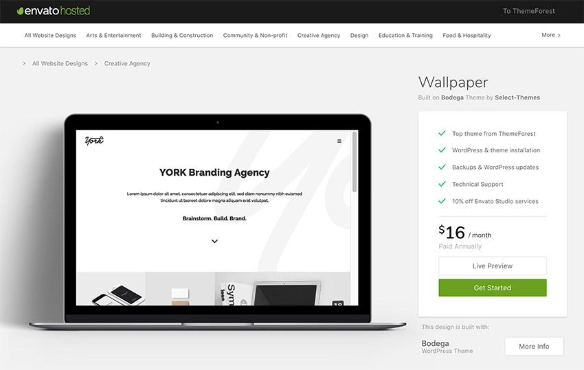 Wallpaper Minimal WordPress Theme for Modern Websites