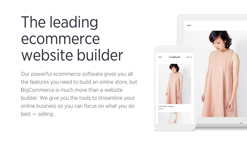 BigCommerce is an all-in-one eCommerce platform