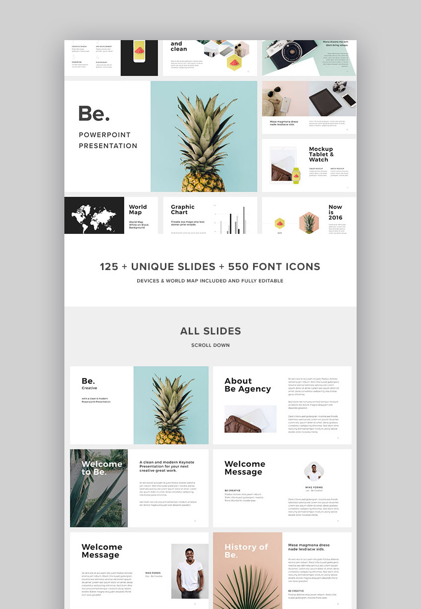 17 best powerpoint template designs for 2017 for What is a design template in powerpoint