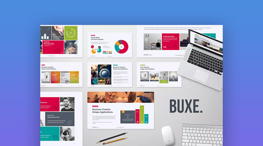 Buxe PowerPoint Creative Multipurpose Design Template