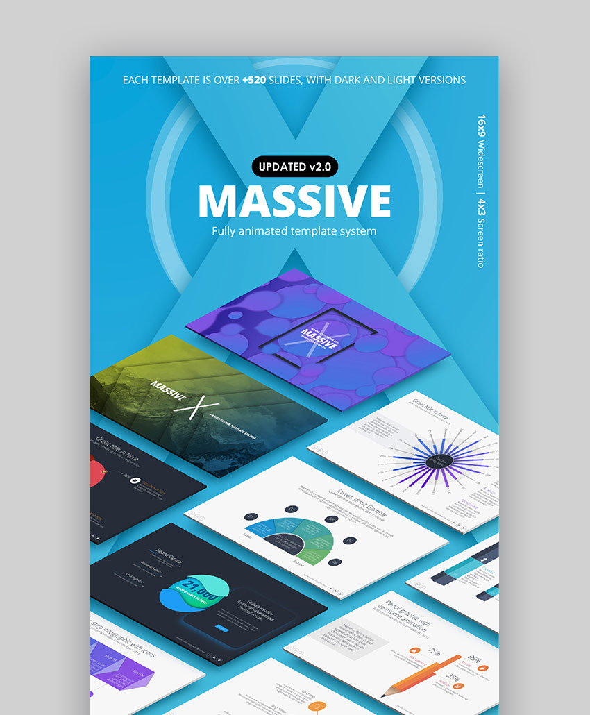 Massive X - 2018 Presentation Template Design