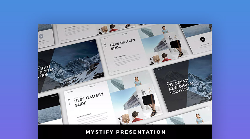 Mystify Well-Designed PPT Presentation Theme
