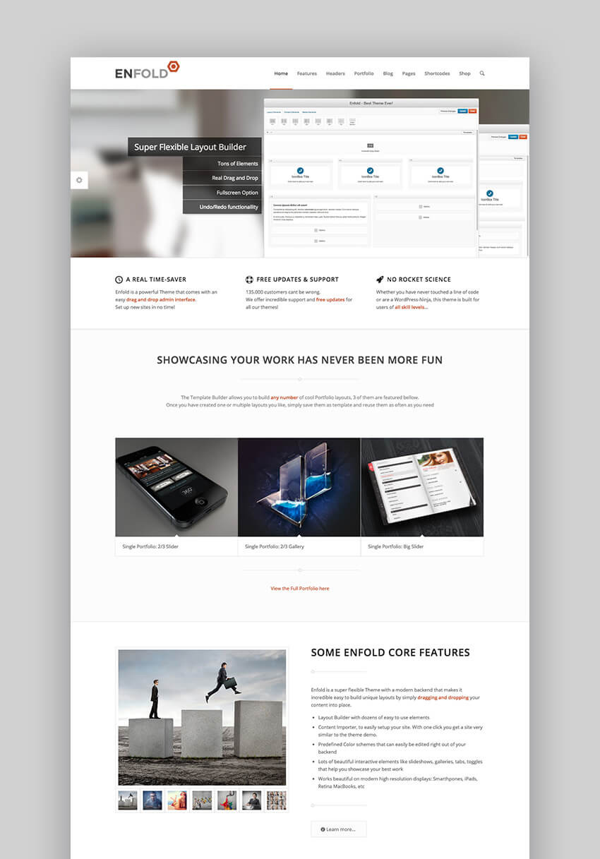 Enfold beautiful premium WordPress theme