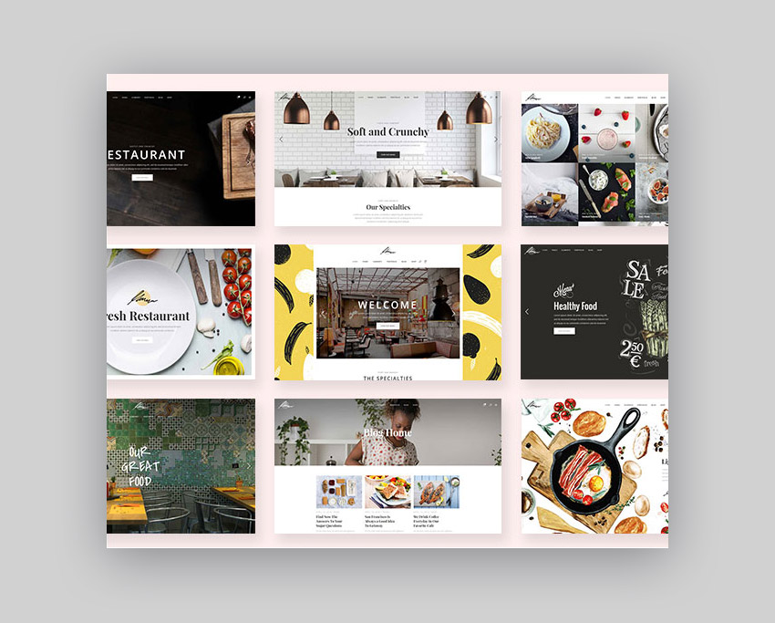 Savory Premium WordPress Restaurant Theme With Beautiful Design