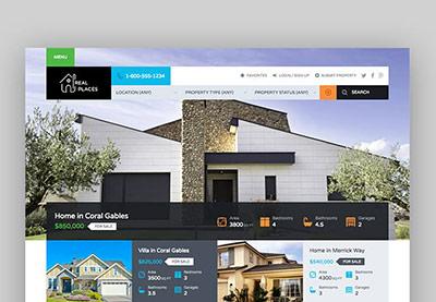 Best Real Estate WordPress Themes For Websites - Real estate template wordpress