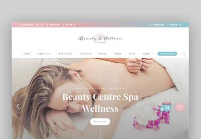 17 best spa beauty salon wordpress themes for 2017 websites fandeluxe Choice Image