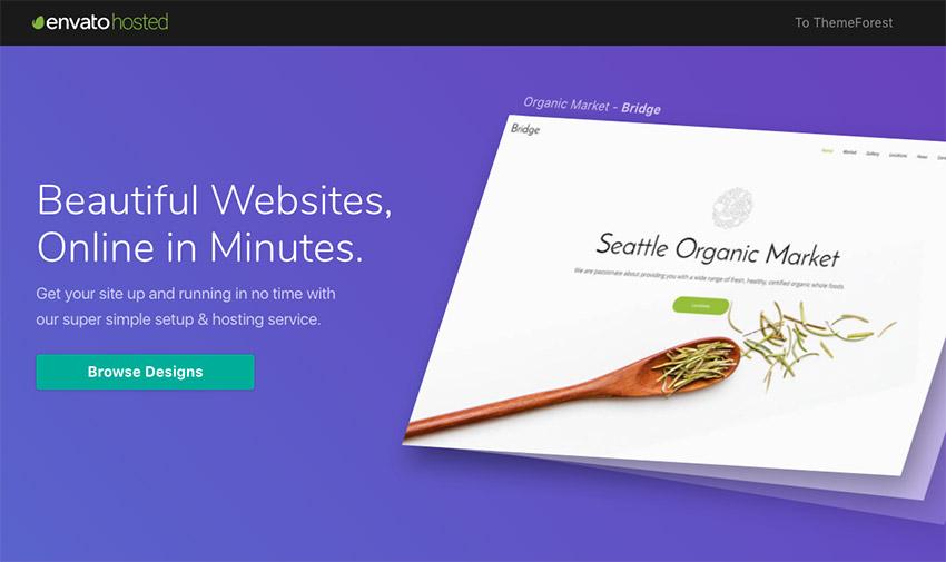 Envato Hosted - Premium managed WordPress hosting