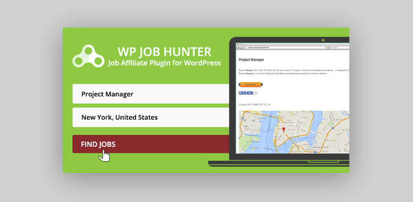 WP Job Hunter Wordpress Plugin